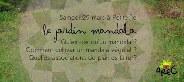Ecole du jardin plan taire atelier jardin mandala arec for Jardin mandala