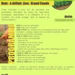 Journée d'initiation à l'agriculture bio le dimanche 22 novembre