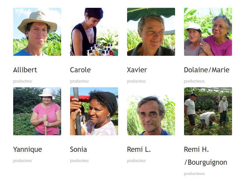 Allibert, Carole, Xavier, Doliane et Marie, Yannique, Sonia, Rémi, Rémi H. et Bourguigon