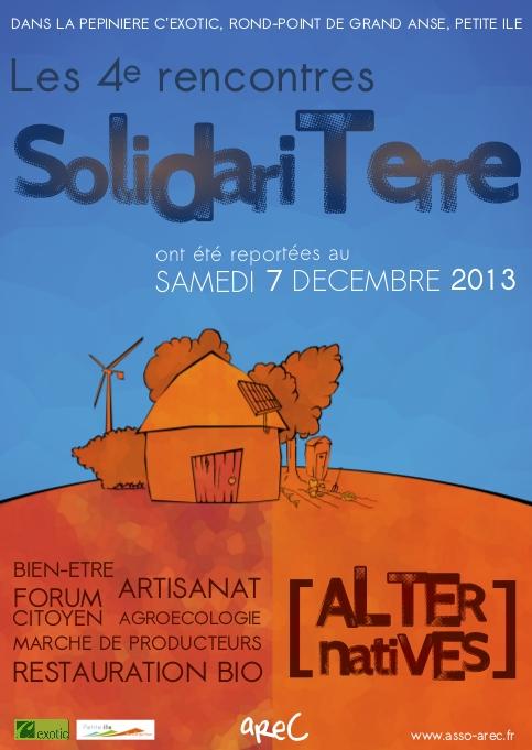 Les rencontres Solidari'Terre, partie 2, samedi 7 décembre !