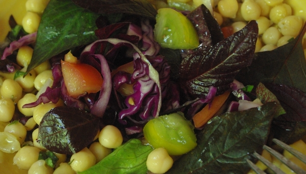 Recette : salade d'amarante
