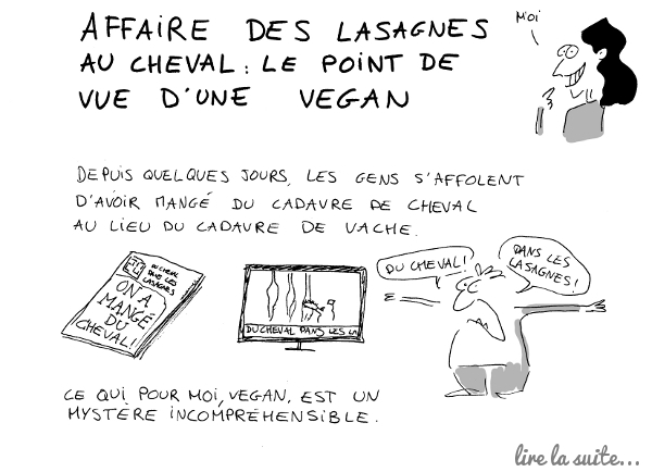 Affaire des lasagnes au cheval...