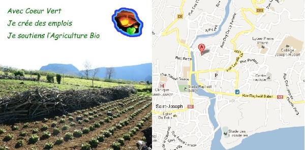 Biodécouverte au jardin Gramoun avec l'association Coeur Vert