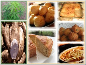 Quelques recettes à base de manioc