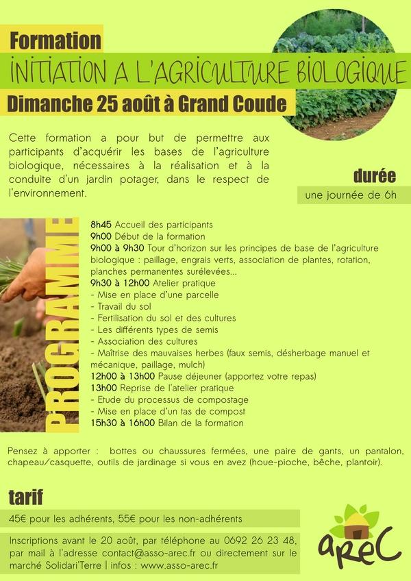 Formation Initiation à l'Agriculture Biologique