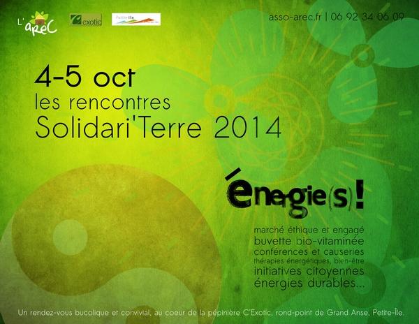 Les rencontres Solidari'Terre, 4-5 octobre