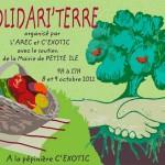 Affiche des Rencontres Solidari'Terre 2010 - 2014