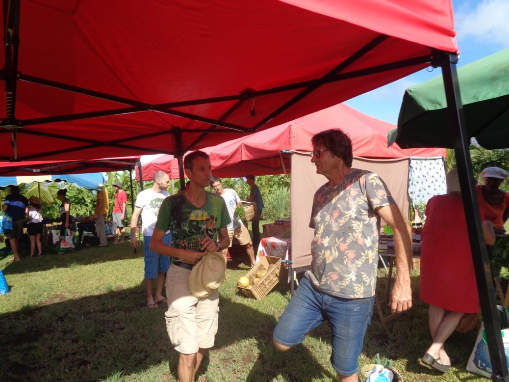 Images du Marché Solidari'Terre